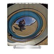 Thunderbird Self Portrait   #8148 Shower Curtain