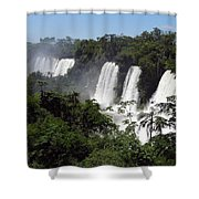 Thundering Falls Shower Curtain