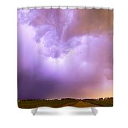 Thunderstorm Tidal Wave Shower Curtain