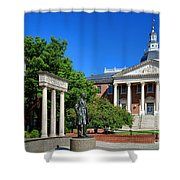 Thurgood Marshall Memorial And Maryland State House Shower Curtain