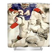 Thurman Thomas Shower Curtain