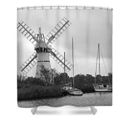 Thurne Windmill II Shower Curtain