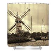 Thurne Windmill IIi Shower Curtain