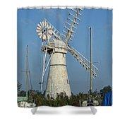 Thurne Windpump Shower Curtain