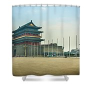 Tiananmen Square Shower Curtain