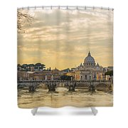 Tiber River Shower Curtain