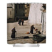 Tibet 2x2x2 By Jrr Shower Curtain