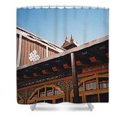 Tibet Potala Palace 8 Shower Curtain