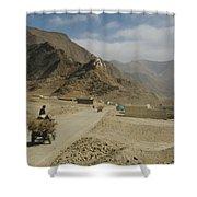 Tibet Rural Shower Curtain
