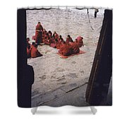 Tibet Sera Debate Shower Curtain