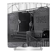 Ticket Office Shower Curtain