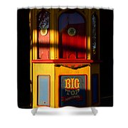 Ticket To The Big Top Shower Curtain