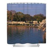 Tidal Basin Washington Dc Shower Curtain