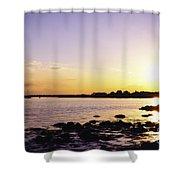 Tidal Light Shower Curtain