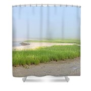 Tidal River Shower Curtain