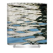 Tide Pools On The Water Shower Curtain
