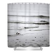 Tide Rolling In Shower Curtain