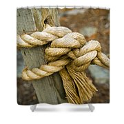 Tie The Knot Shower Curtain