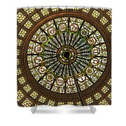 Tiffany Dome Chicago Cultural Museum Shower Curtain
