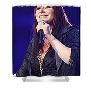 Singer Tiffany Shower Curtain