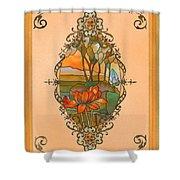 Tiffany Tree Shower Curtain
