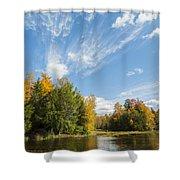 Tiffin Fall Shower Curtain