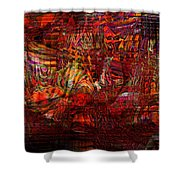 Tiger Glass Shower Curtain