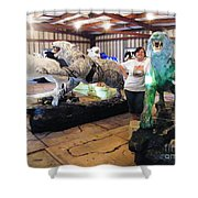 Tiger Project Work Space Shower Curtain