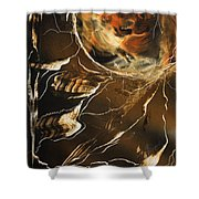 Tiger Stripe Shower Curtain