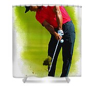Tiger Woods - The Honda Classic Shower Curtain