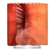 Tight Bend Shower Curtain