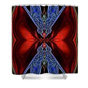 Tightly Wound Shower Curtain