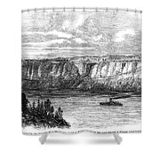 Tightrope Walker, 1860 Shower Curtain