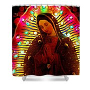 Tijuana Mary Shower Curtain