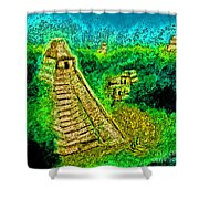 Tikal By Jrr Shower Curtain