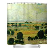 Till The Clouds Rolls By Shower Curtain