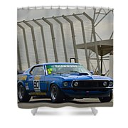Tilley Racing Mustang Shower Curtain