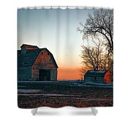 Timber Avenue Crib 3 Shower Curtain