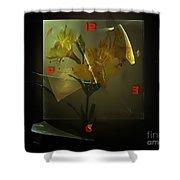 Time 0582 Marucii Shower Curtain
