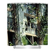 Time And Disrepair Shower Curtain
