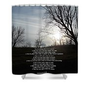 Time And Seasons Shower Curtain