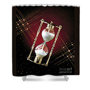 Time And Space Shower Curtain