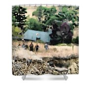 Time For A Picnic Shower Curtain