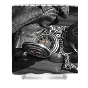 Time For A Ride Shower Curtain