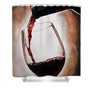 Time For Wine Shower Curtain