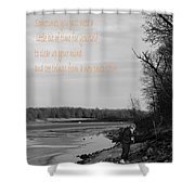 Time For Yourself Shower Curtain