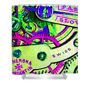 Time In Abstract 20130605m108 Shower Curtain