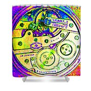 Time In Abstract 20130605m144 Square Shower Curtain