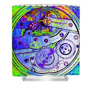 Time In Abstract 20130605m36 Square Shower Curtain