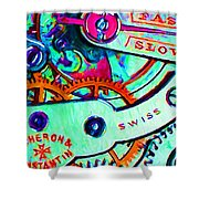 Time In Abstract 20130605m36 Shower Curtain